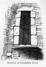 Doorway of Clondalkin Tower