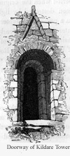 Doorway of Kildare Tower