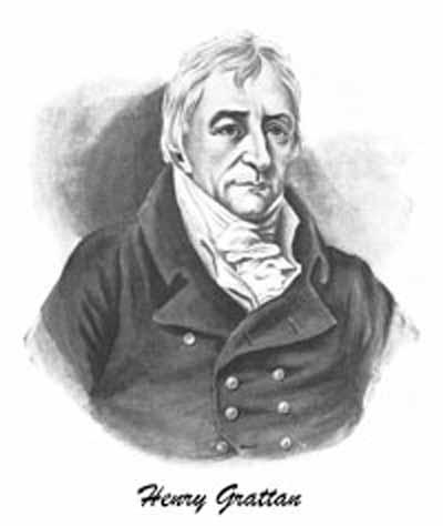 Portrait of Henry Grattan