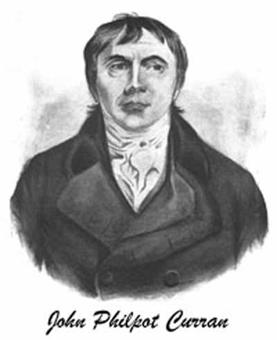 Portrait of John Philpot Curran