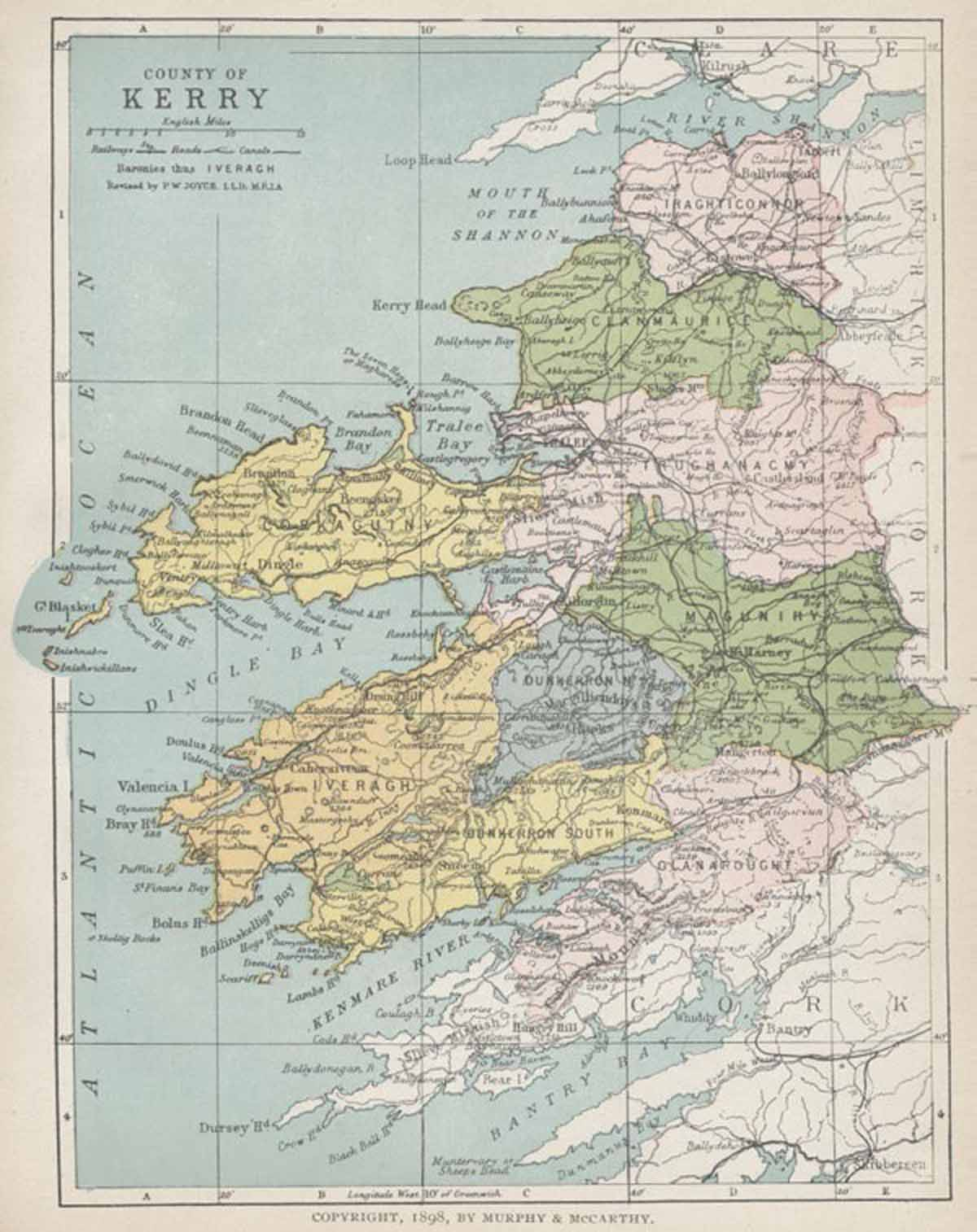 County Kerry Map