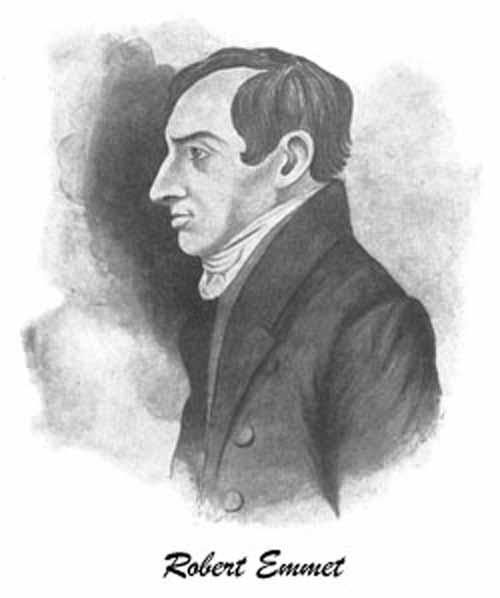 Portrait of Robert Emmet