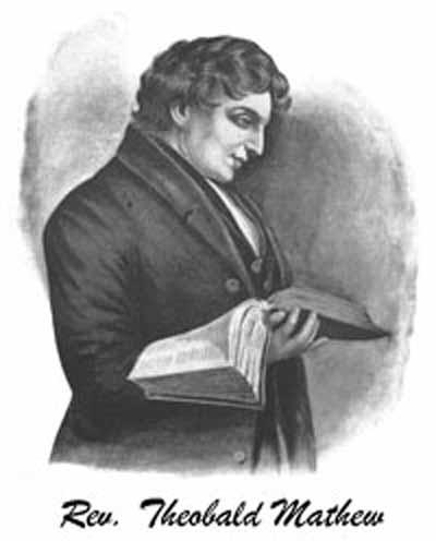 Portrait of Rev. Theobald Mathew