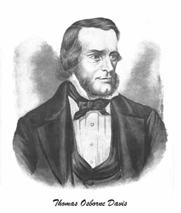Portrait of Thomas Osborne Davis