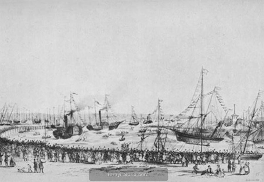 Belfast Harbour, 1849