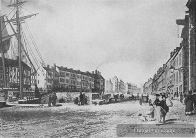 High Street, Belfast, in 1839