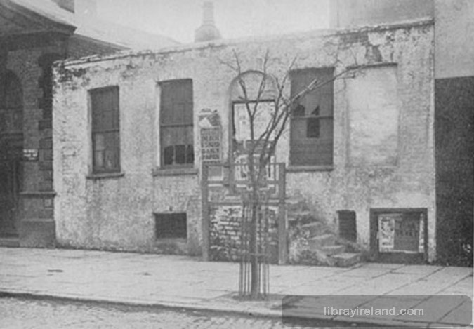 Old Toll House at corner of Great Edward Street and Chichester Street, Belfast