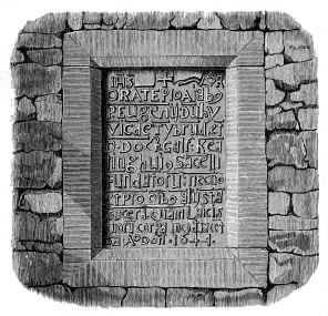 Inscription in honour of Keating