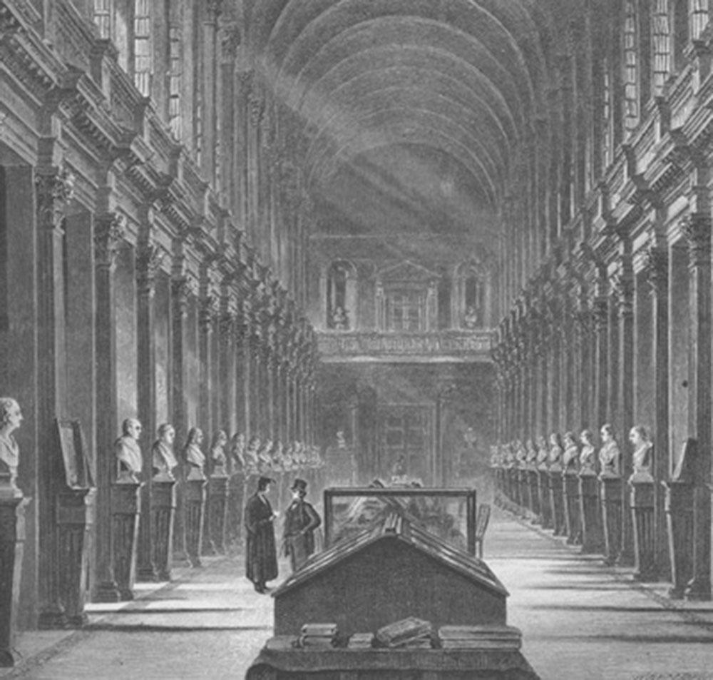 Trinity College Dublin - Irish Pictures (1888)