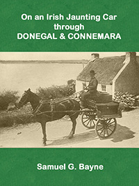 On an Irish jaunting Car through Donegal and Connemara