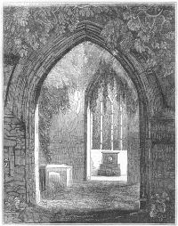Archway at Mucross Abbey