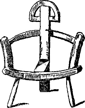 Ancient Irish Chair