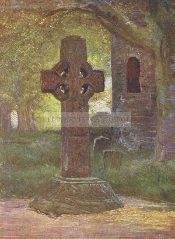 The Island of Saints - Ireland, painted by Francis S  Walker